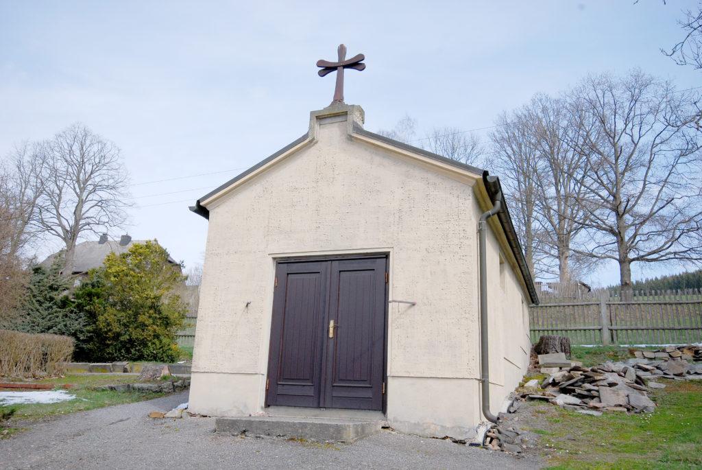 Friedhof Oberneuschönberg - Trauerhalle