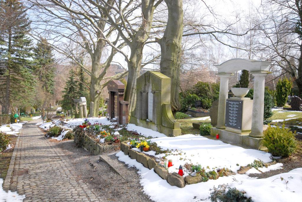 Friedhof Olbernhau - Einzelgräber