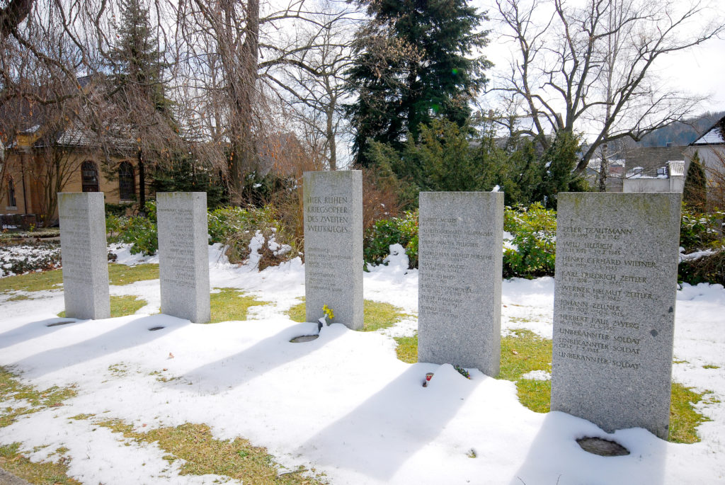Friedhof Olbernhau - Kriegerdenkmal