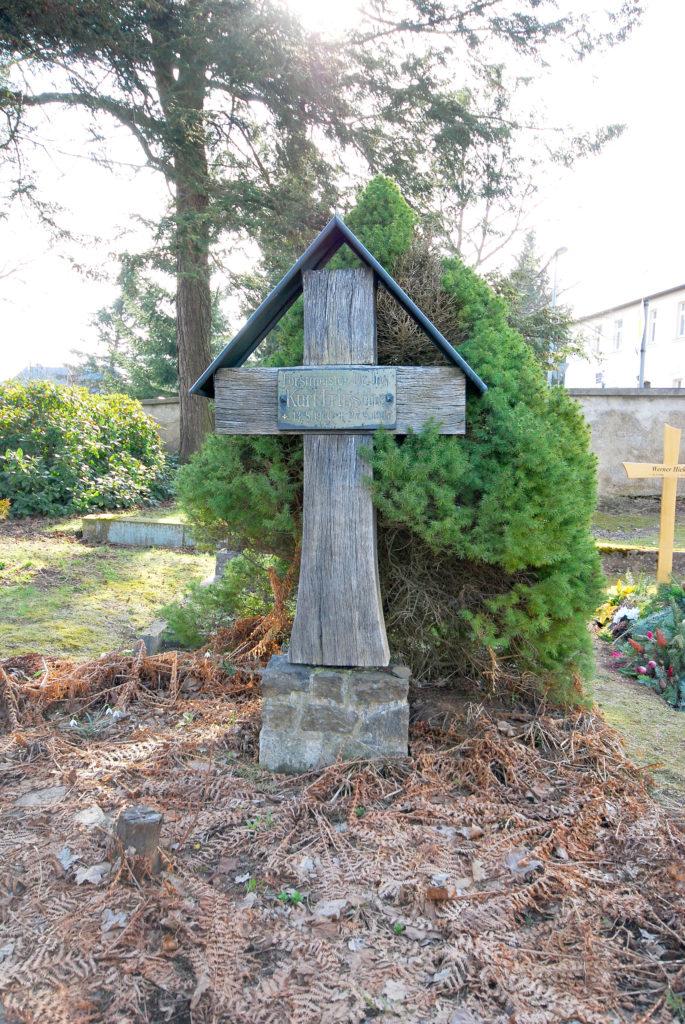 Friedhof Rübenau - Einzelgrab