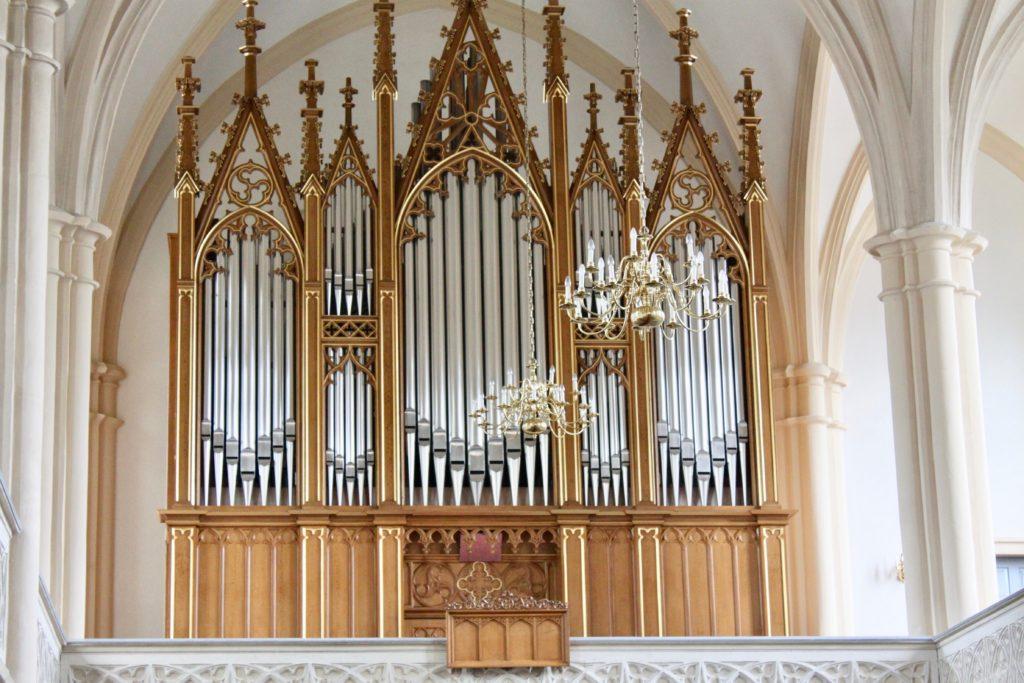 Kirche Neuhausen - Jehmlich-Orgel von 1869