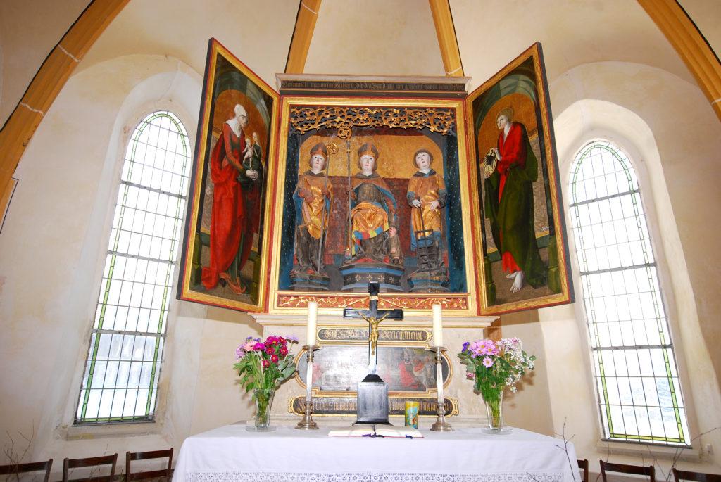 Kirche Dörnthal - Altar