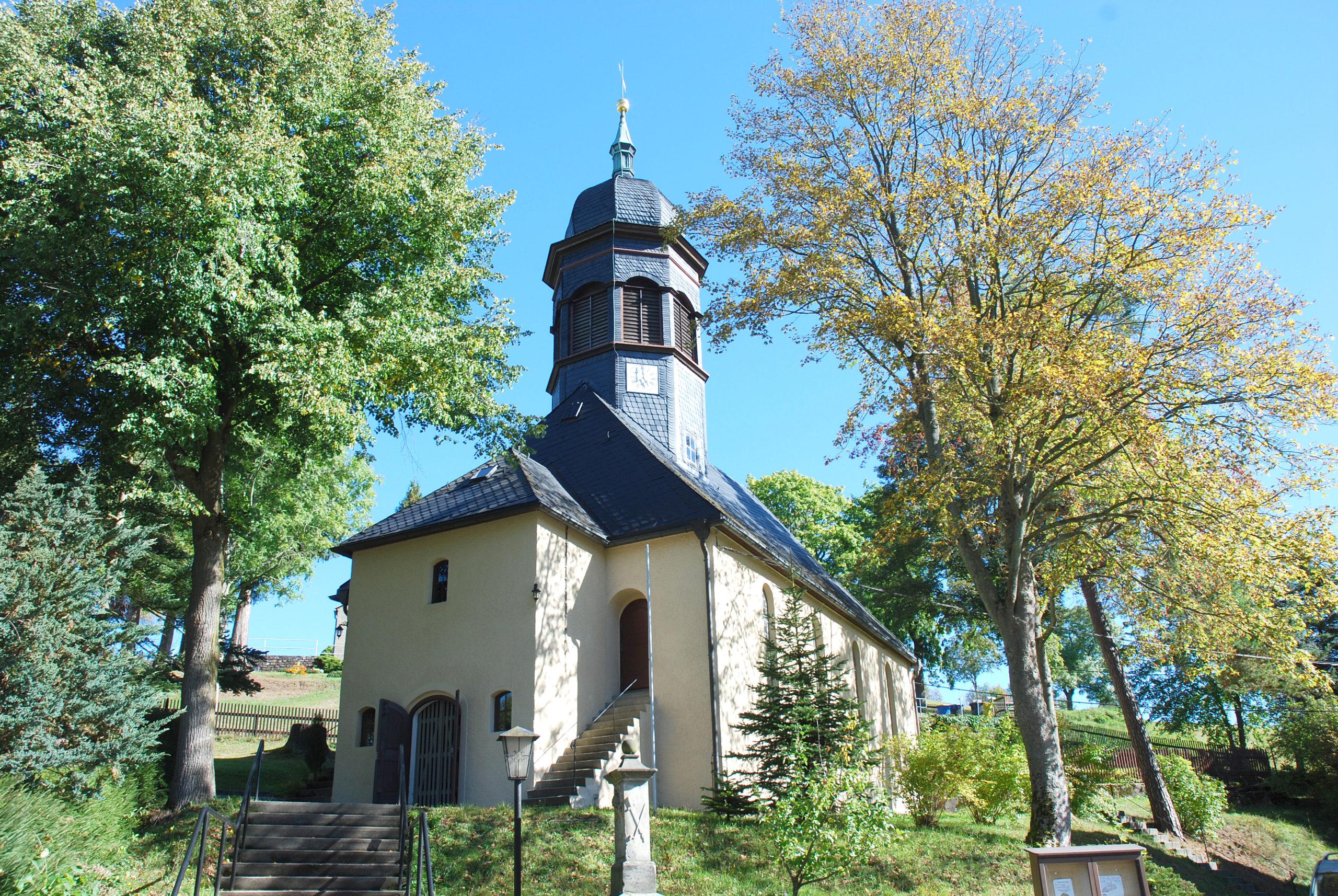 Kirche Heidersdorf - Außenansicht