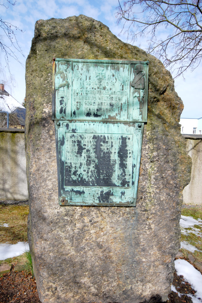 Kirche Olbernhau - Kriegerdenkmal 1. Weltkrieg