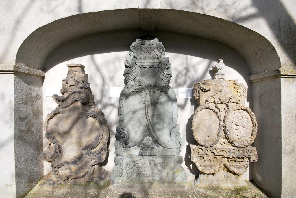 Kirche Olbernhau - Steinwappen