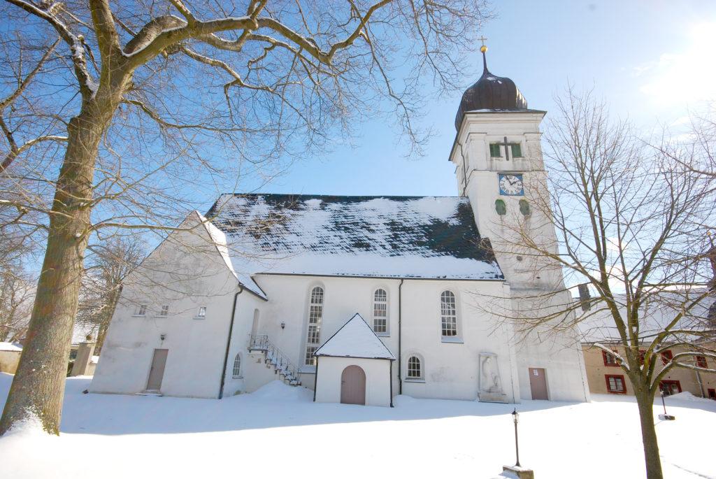 Kirche Pfaffroda - Außenansicht