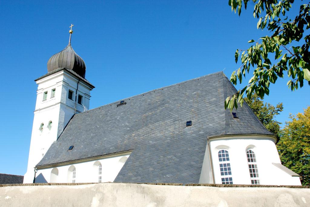 Kirche Pfaffroda - Rückansicht