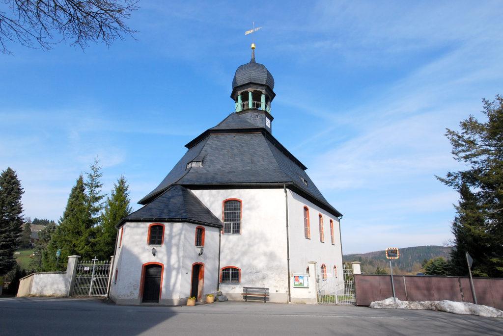 Kirche Rübenau - Außenansicht