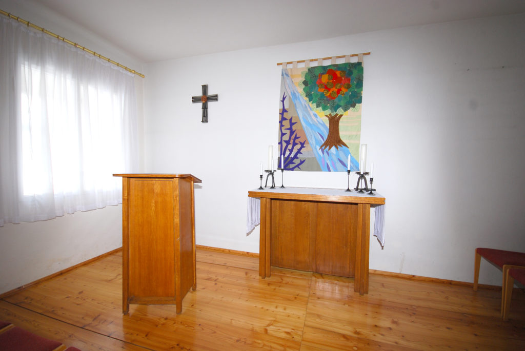 Pfarrsaal Dörnthal - Altarraum
