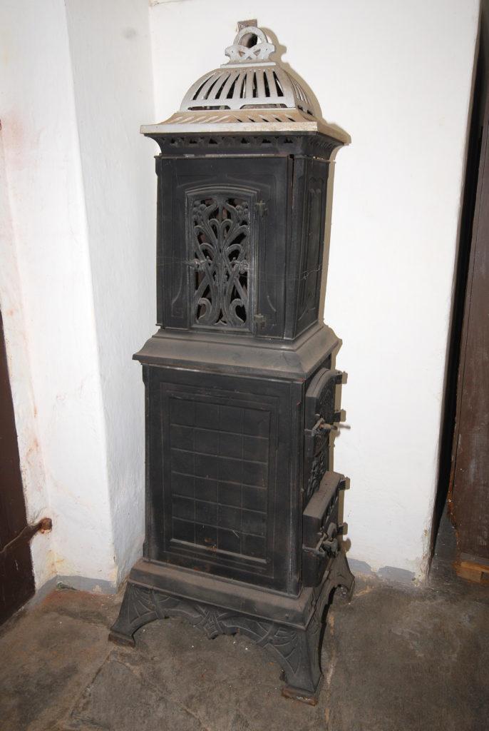 Pfarrhaus Dörnthal - alter Ofen im Flur