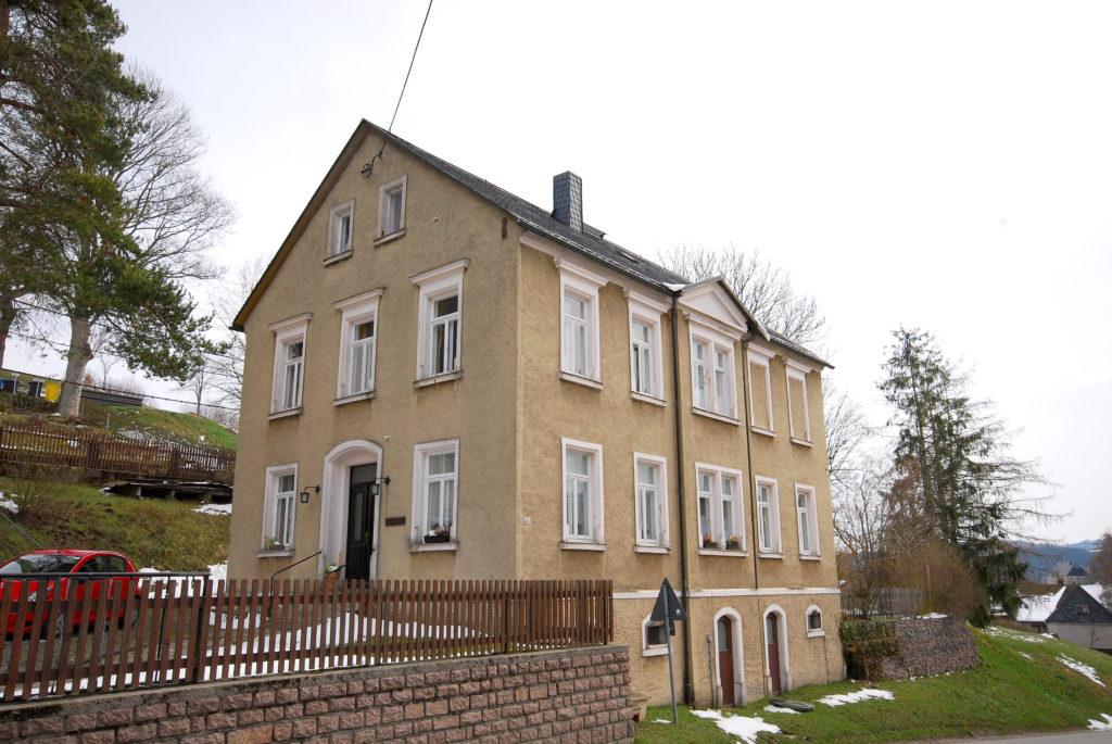 Pfarrhaus Heidersdorf - Außenansicht