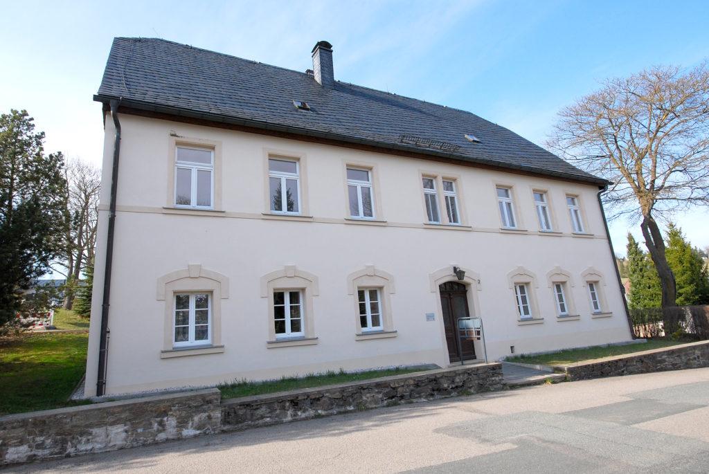 Pfarrhaus Rübenau - Außenansicht