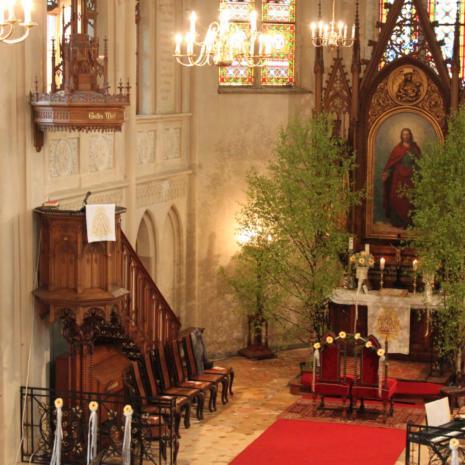 Kirche Neuhausen - Altarraum